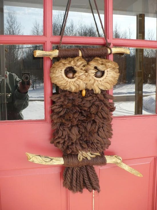 macrame owls macrame owl necklace the whoot 5184