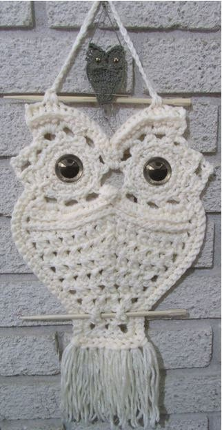 macrame owls macrame owl necklace the whoot 7074